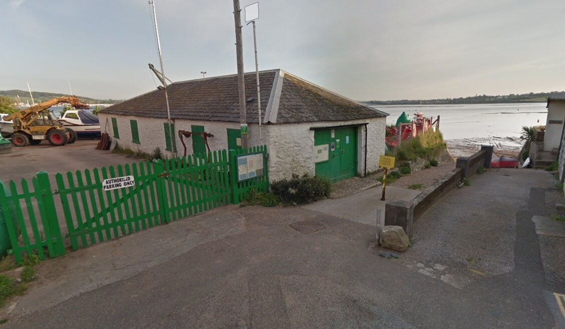 Exeter Port Authority's Trinity Buoy Store in Camperdown Terrace, Exmouth. Image: Google Maps