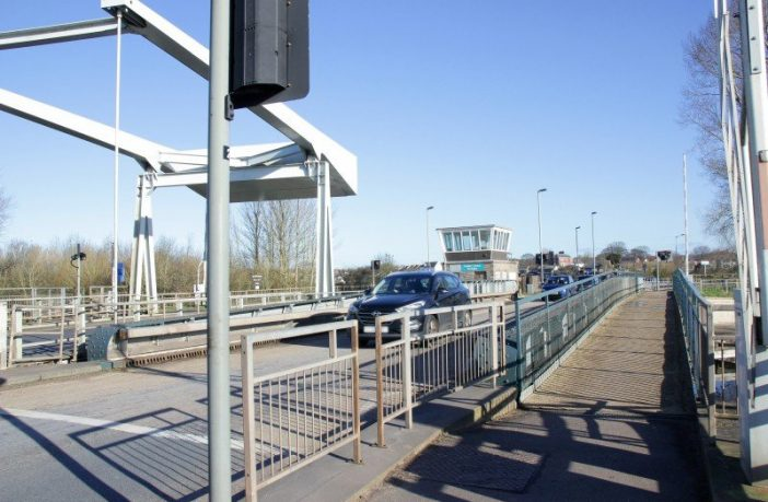The Exeter Swing Bridge. Picture: Devon County Council