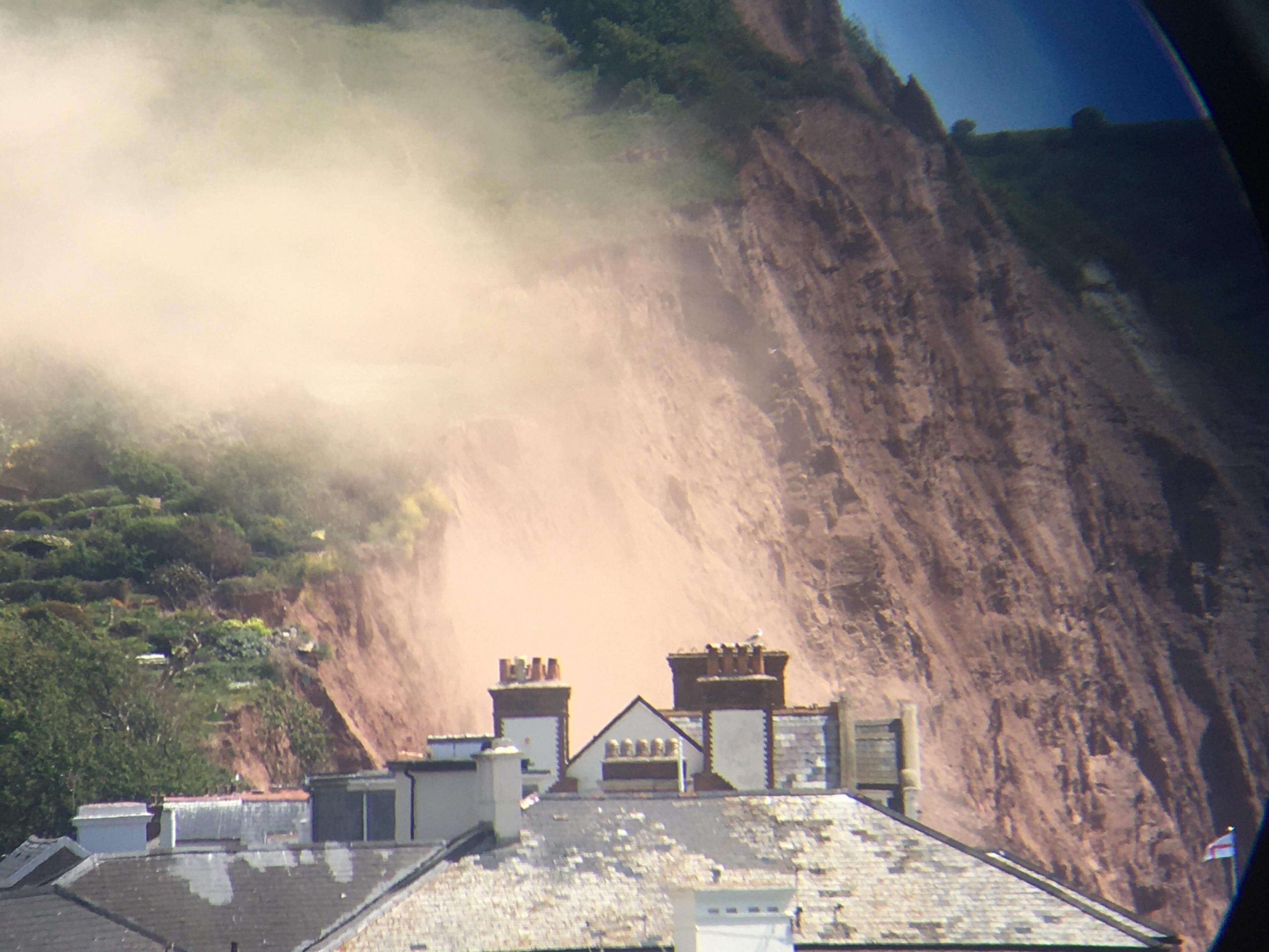 Sidmouth cliff fall