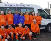 Disability football club in Exmouth awarded £2,000 to help it survive the coronavirus crisis