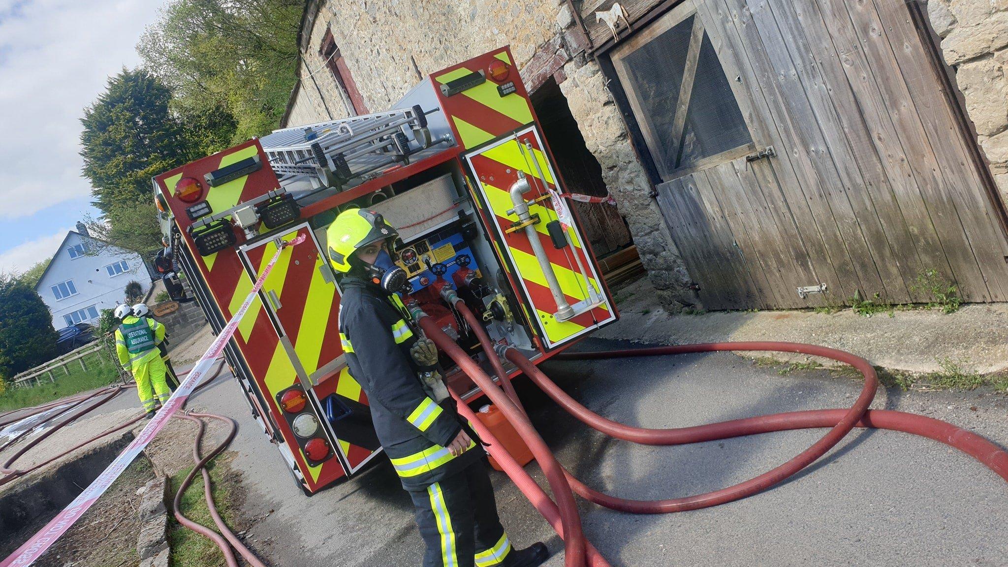 Branscombe fire