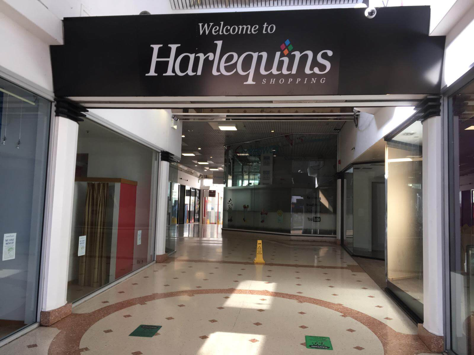 The existing Harlequins shopping centre. Image: Daniel Clark