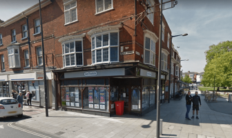 The gin bar is proposed for 2 Rolle Street in Exmouth, formerly home to a GoMobile shop. Image: Google Maps