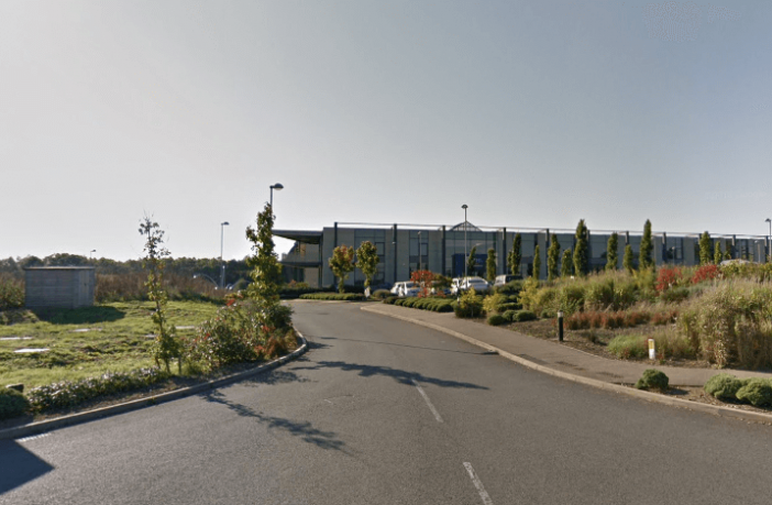 The former Flybe Training Academy at Exeter Airport. Image: Google Maps
