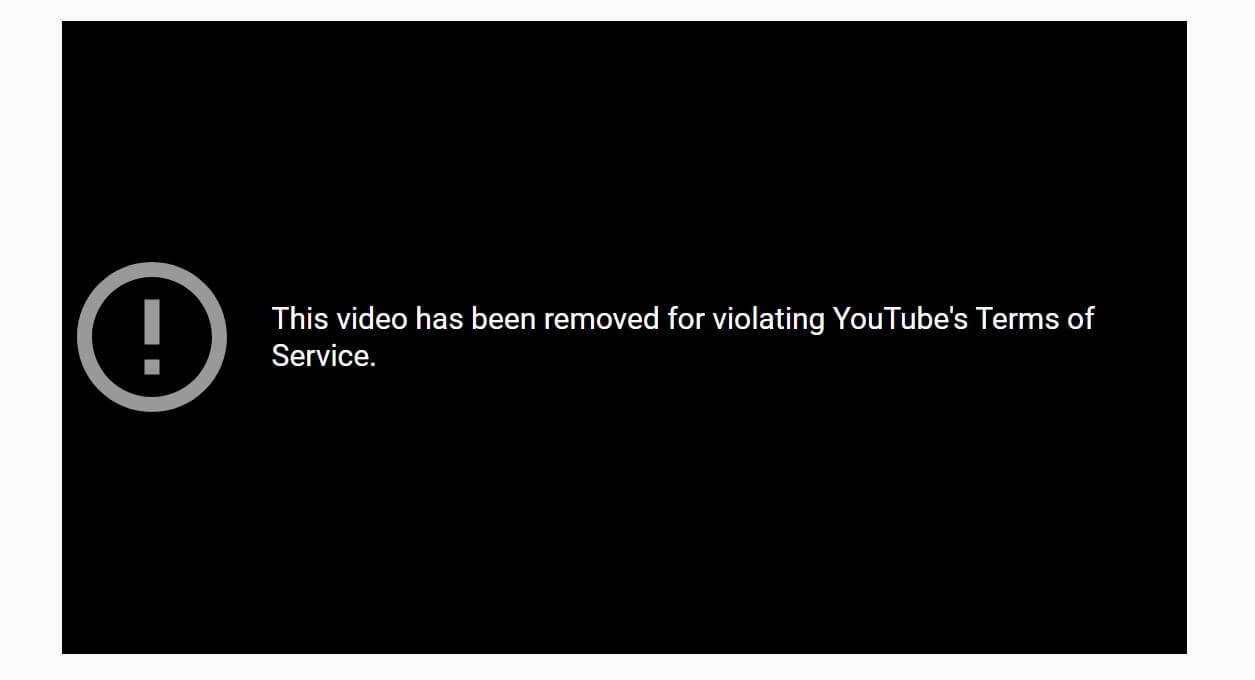 The message that appeared on the council\'s Youtube channel as the meeting Kldjklajj The message that appeared on the council's Youtube channel as the meeting stream crashed.