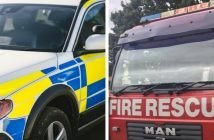 East Devon Exeter police and fire Exmouth Sidmouth Exeter Lympstone