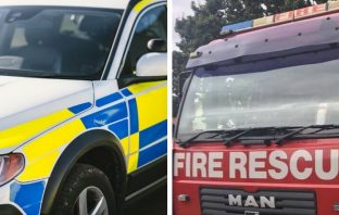 Exmouth East Devon Exeter police and fire Exmouth Sidmouth Exeter Lympstone