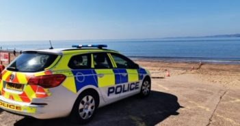 PHOTOS & VIDEO: Bomb squad called and Exmouth beach cordoned-off after 'unidentifiable object' is uncovered