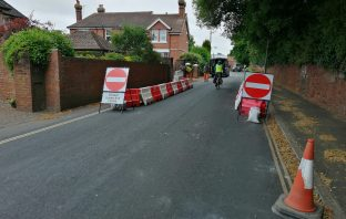 Ludwell Lane, Dryden Road and Wonford Road in Exeter will be closed to vehicles, except buses and bicycles. Picture: Devon County Council