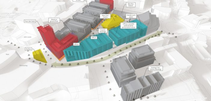 Backing for bid to keep £300m redevelopment of Exeter city centre moving