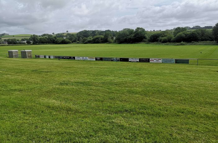 The current facilities at Colyton AFC.
