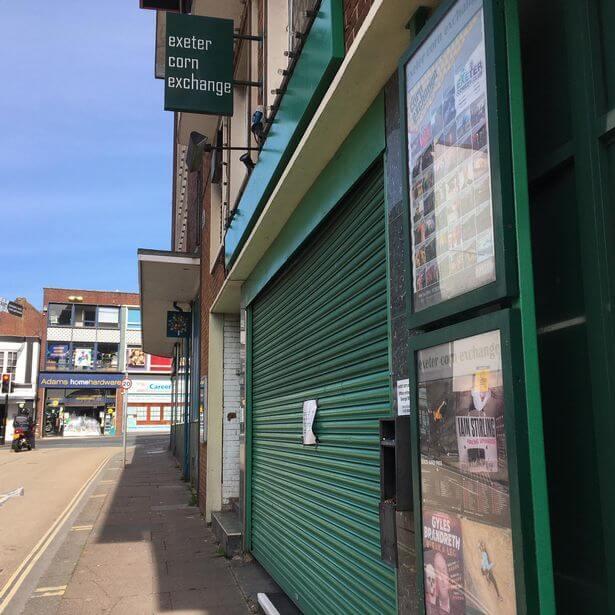 Exeter Corn Exchange. Picture: Daniel Clark