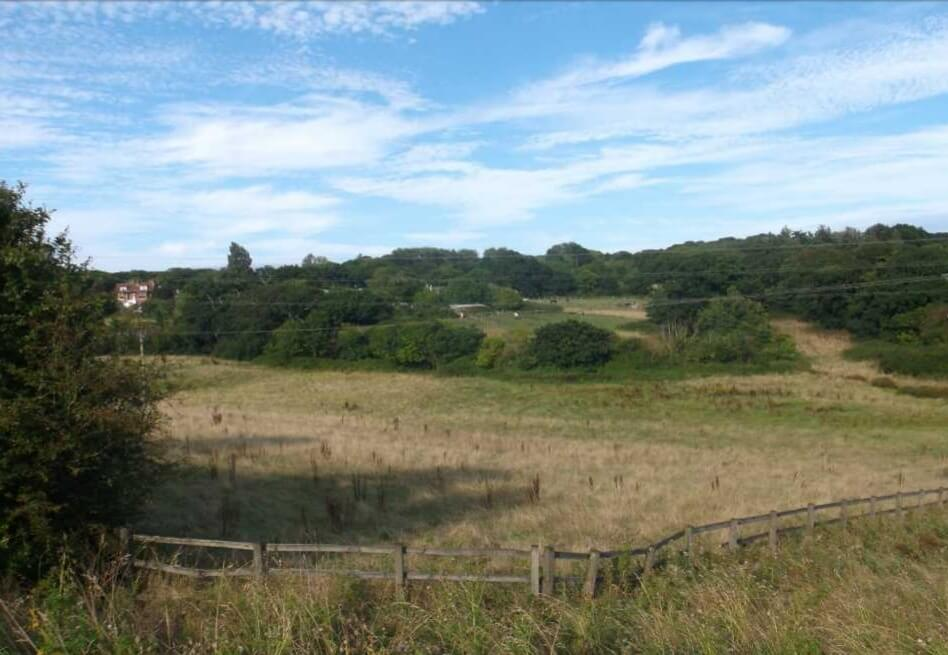 The site is off Hulham Road and Dinan Way in Exmouth.