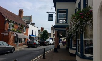 Fore Street in Topsham.