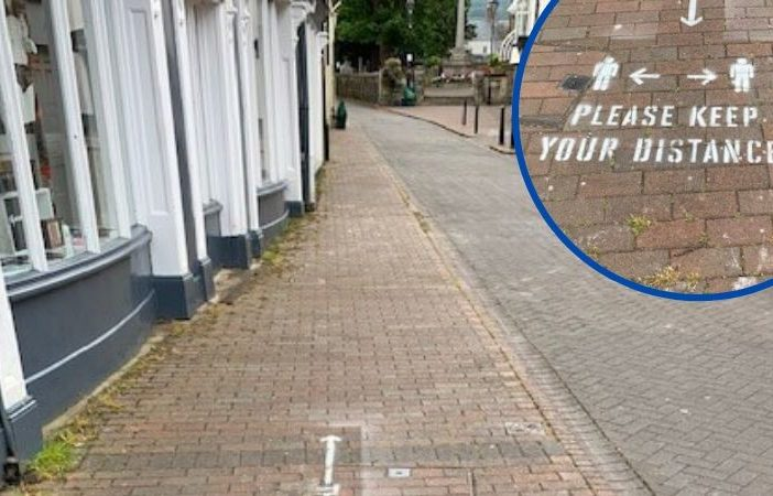 Church Street in Sidmouth is one of the roads which will be affected by the temporary measures.