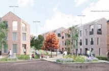 An artist's impression of the Clifton Hill redevelopment plans. Image: Exeter City Living