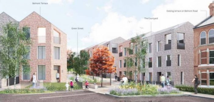 Plans to replace shut Exeter sports centre with 44 homes are submitted