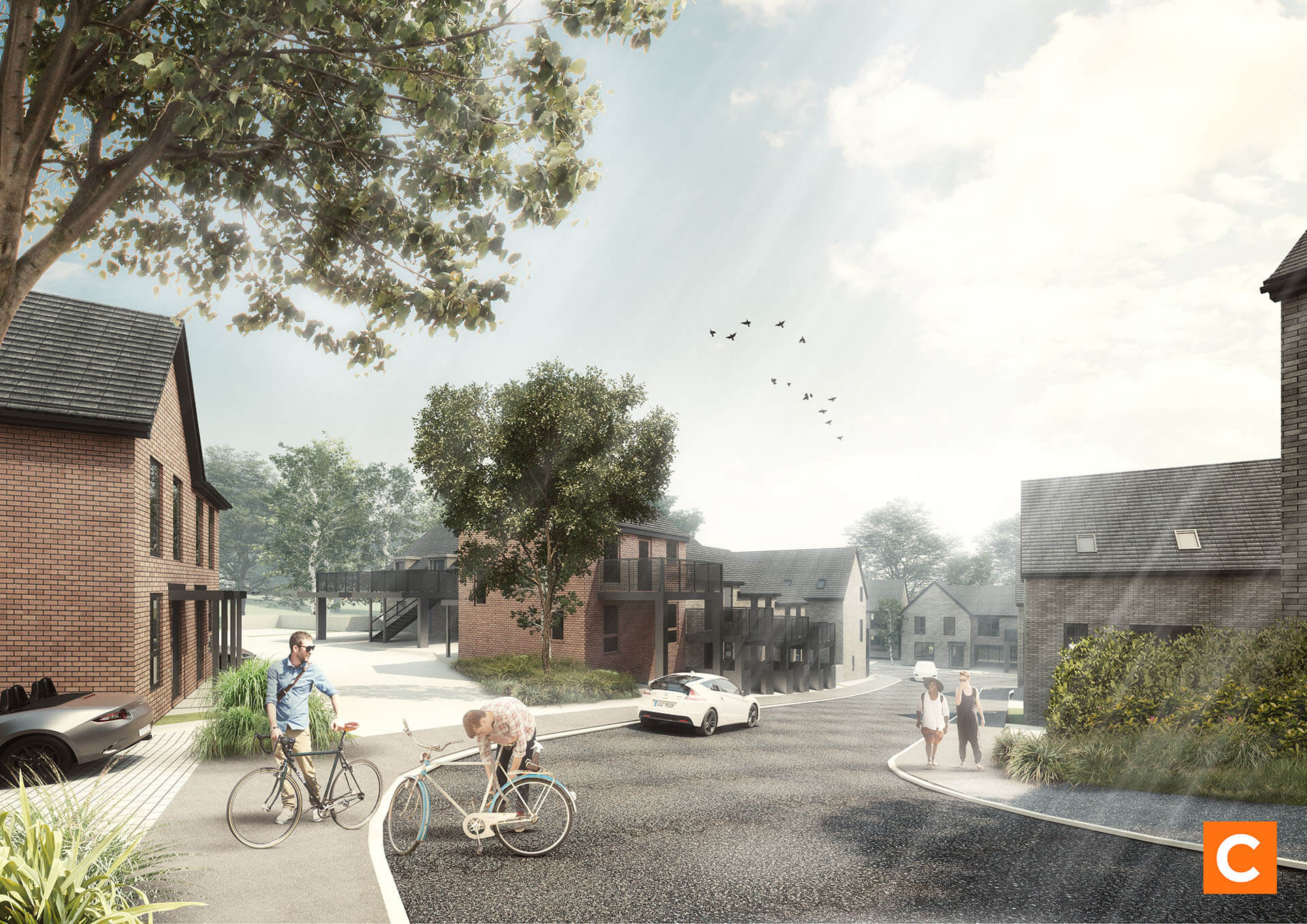An artist's impression of the Exwick Road scheme. Picture: LiveWest