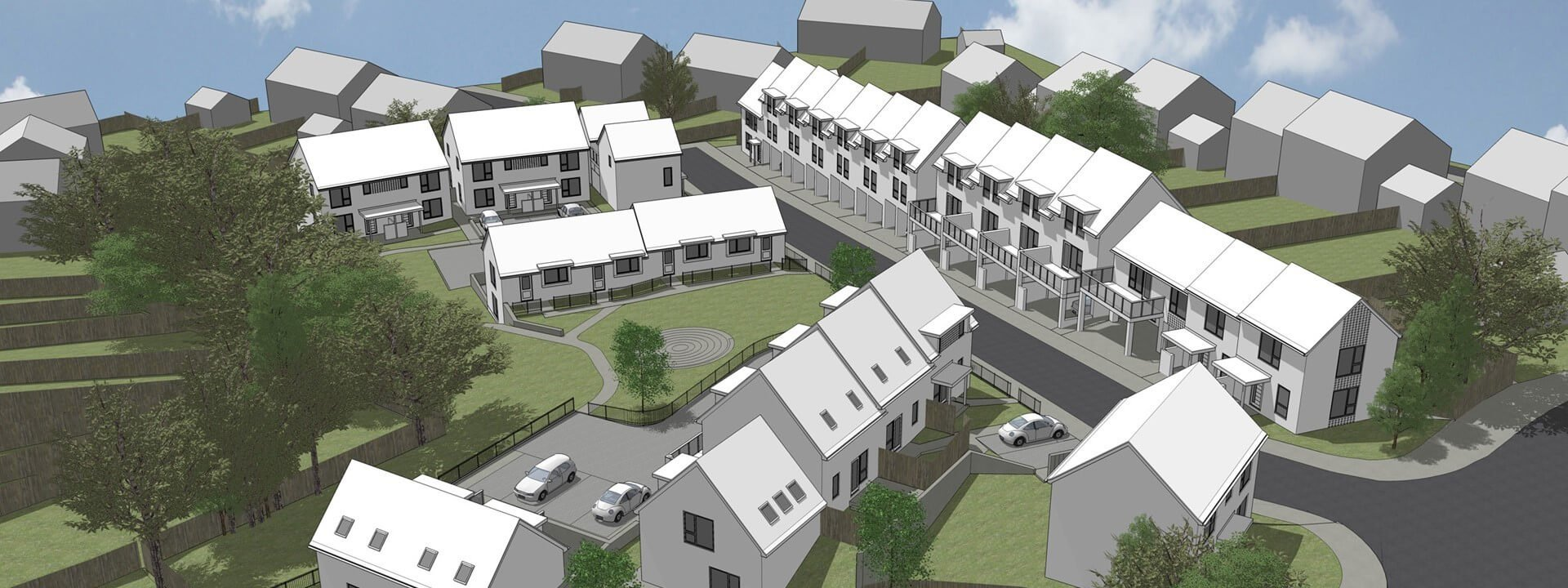 Exeter: An artist's impression of the Gloucester Road scheme. Picture: LiveWest