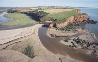 The Lower Otter Estuary in Budleigh Salterton. Image: PACCo
