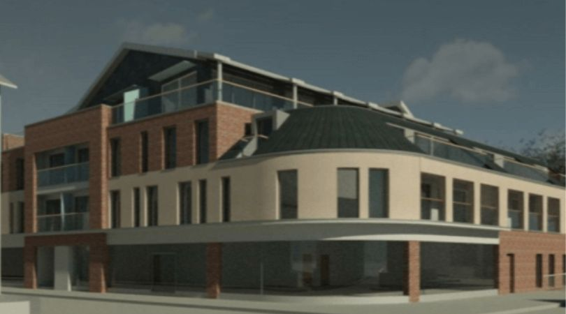 After? How the proposed new development would look. Image: Stagg Inns Ltd/ARA Architecture
