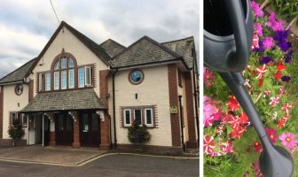 Budleigh Salterton Town Council, which is based at the Public Hall, agreed to spend £1,575 on watering floral features.
