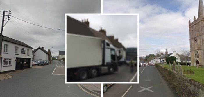 Impact of HGVs on Sidford and Sidbury to be assessed – with mooted weight restriction still possible