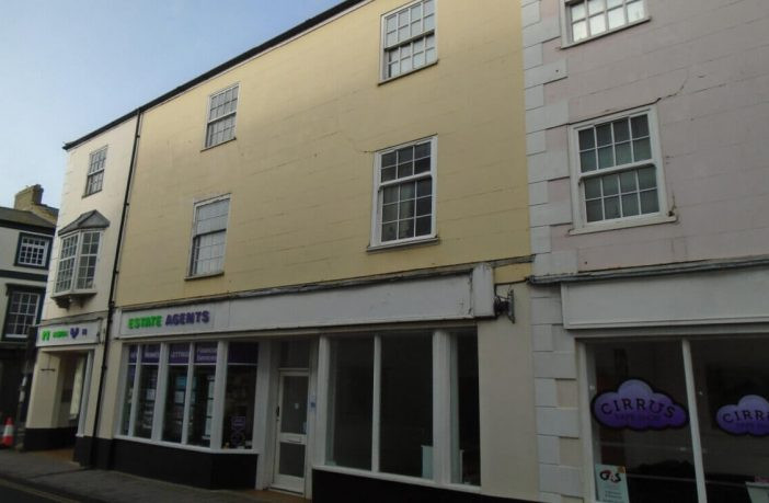 The empty unit in Chard Street, Axminster, can become a micropub. Image shown to the East Devon District Council's Development Management Committee