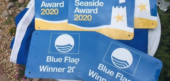Sidmouth beach wins first-ever Blue Flag Award thanks to community effort