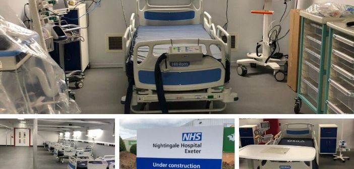 Exeter Nightingale Hospital turns into cancer scan and testing centre while on standby for Covid patients