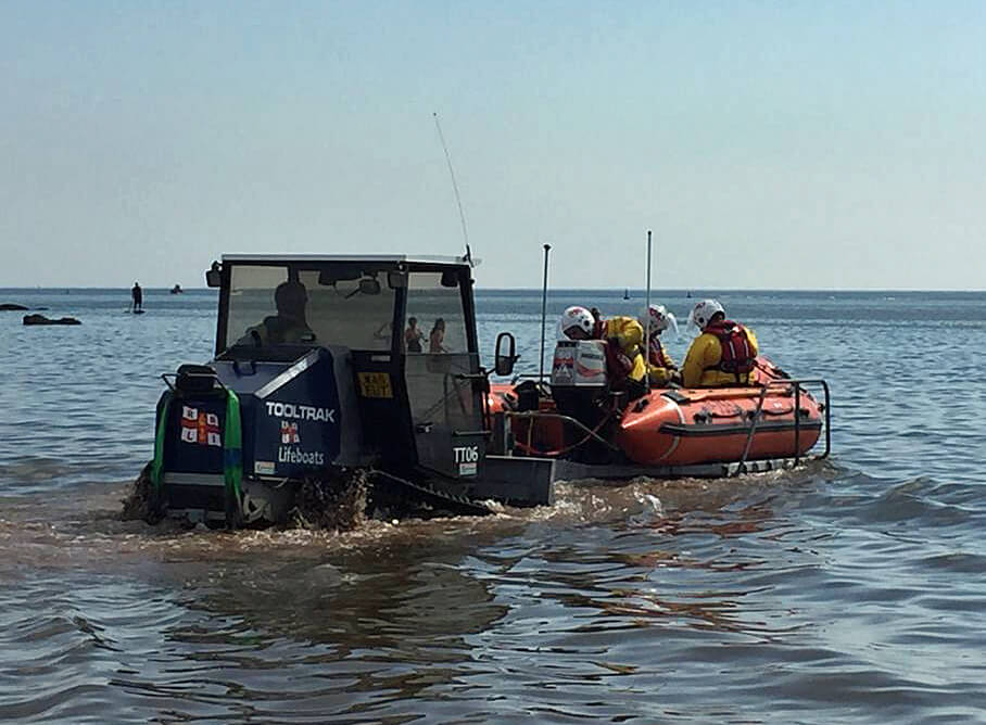Picture: Chris Sims/Exmouth RNLI