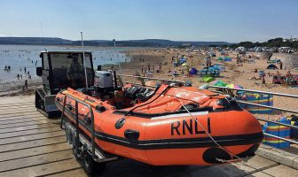 Exmouth lifeboat was launched twice on one afternoon. Picture: Chris Sims/Exmouth RNLI