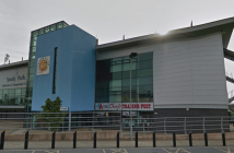 Exeter Chiefs will be in action at Sandy Park. Image: Google Maps