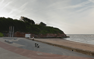Archive photo - Orcombe Point in Exmouth. Image: Google Maps