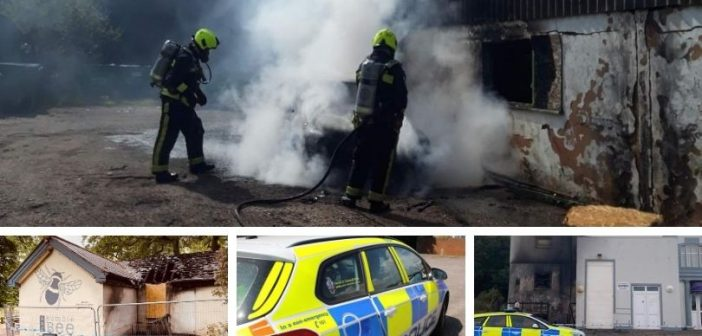 Police remain 'open-minded' if latest deliberate Exmouth fire is linked to arson attacks