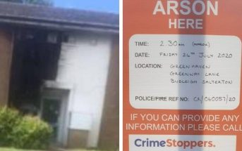 The most recent arson was on sheltered flats in Greenway Lane, Budleigh Salterton.