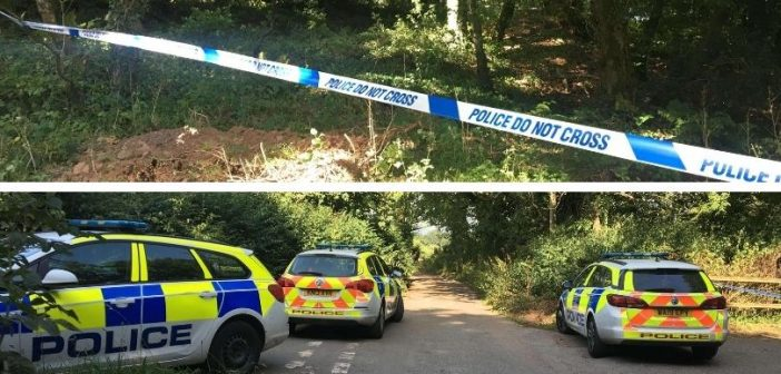 Body found in woodland near Broadclyst is being treated by police as 'potential' murder