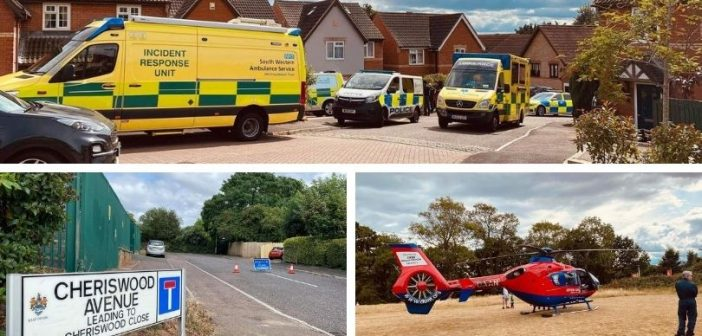 Pedestrian taken to hospital with leg injuries after car crash in Exmouth