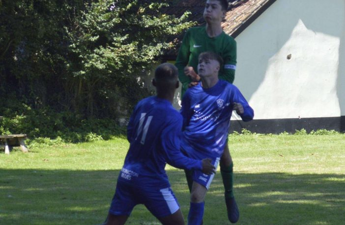 Exmouth: Brixington Blues in action. Picture: David Haggerty