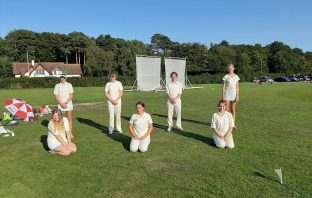 Sidbury Cricket Club girls under-15s. Picture: David Munro-Higgs