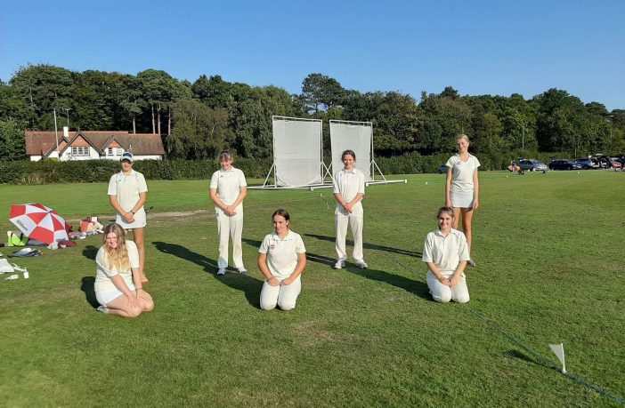 Sidbury Cricket Club girls under-15s. Picture: David Munro-Higgs