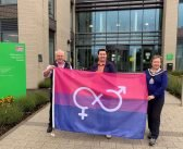 East Devon council's pride as Bisexual Flag flies over Honiton HQ