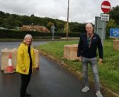 Traffic barred as 'dangerous' Exeter road is made exclusive to walkers and cyclists