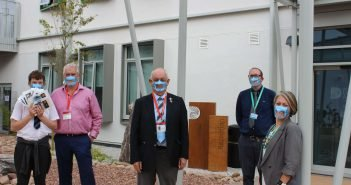 Dad's plea sees Chiefs score transparent face masks for The Deaf Academy in Exmouth