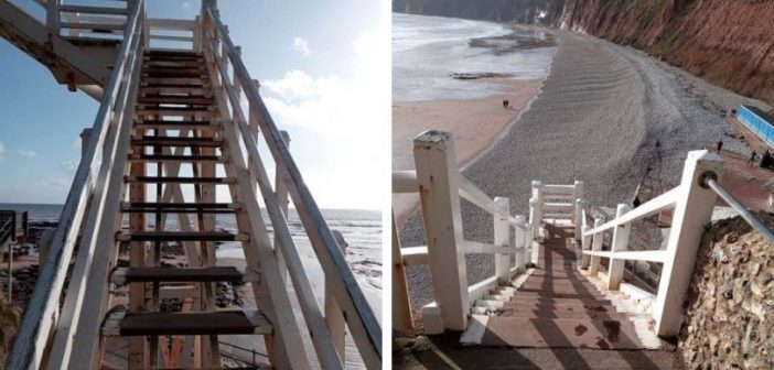 Sidmouth landmark Jacob's Ladder to get much-needed makeover and structural repairs