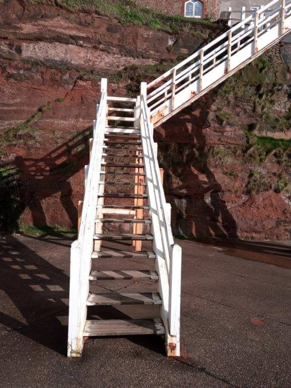 Jacob's Ladder in Sidmouth. Image: East Devon District Council