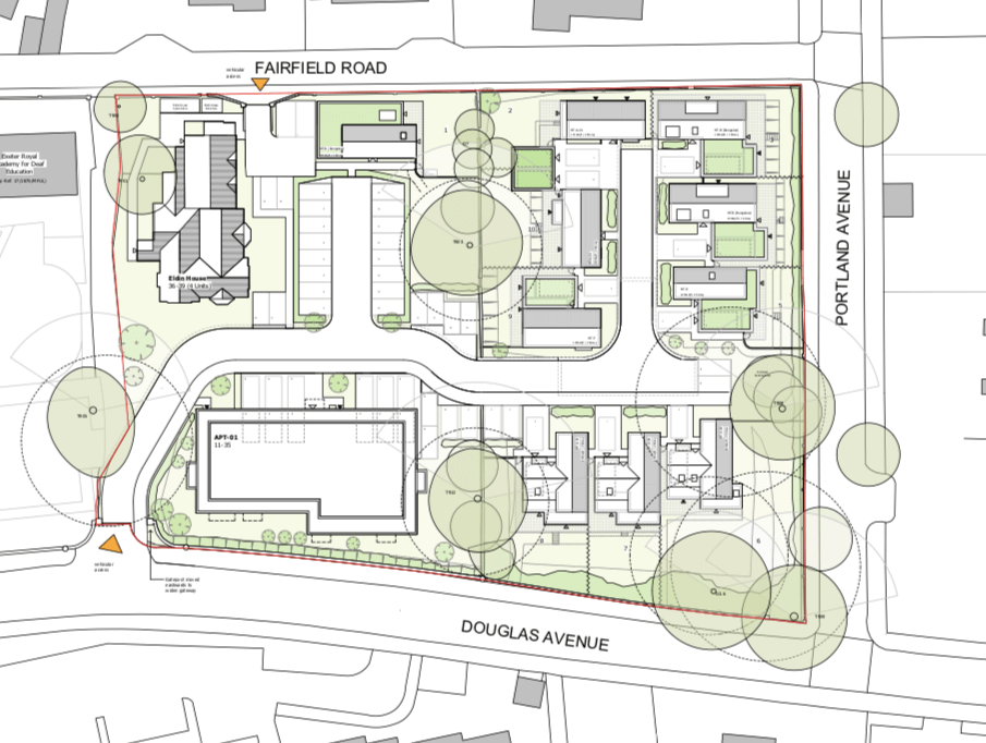 Images from the planning application - Barton Willmore/Acorn Property Group