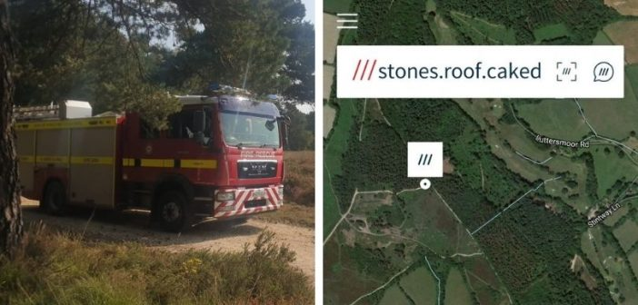 Abandoned campfire at Sidmouth could have been found faster using What3Words, says fire crew