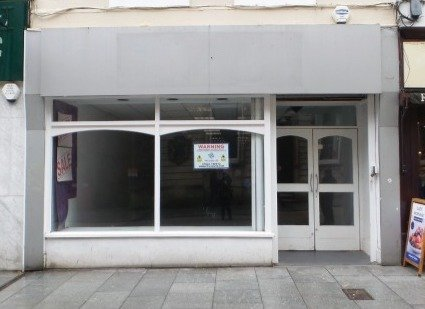 Before: How 193 High Street in Exeter looks now.