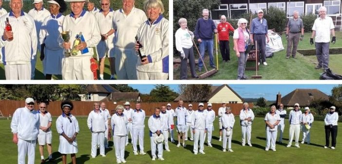 Budleigh bowls: Players out in force to compete for Centenary Cup